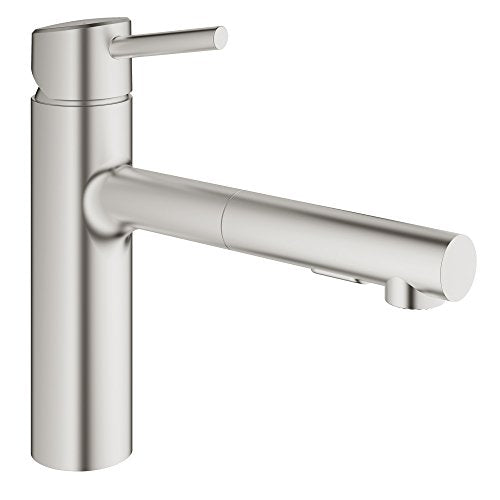 Grohe 29138EN0 29138 Round US Brushed Nickel Thm Smartcontrol 3,Brushed Nickel