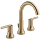 Delta Trinsic 3559-CZMPU-DST Two Handle Widespread Bathroom Faucet Champagne Bronze