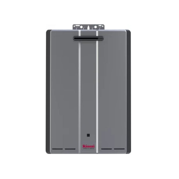 Rinnai Sensei 7 GPM 130000 BTU 120 Volt Residential Natural Gas Tankless Water Heater for Outdoor Installation RU130eN-tankless water heater-HomePlumbing