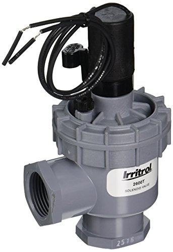 Irritrol 2600T Angle Valve with NPT Threaded Connection, 1""