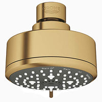 GROHE 26043GN1 New Tempesta Cosmopolitan 100 4 Spray Shower Head, Brushed Cool Sunrise