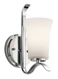 Kichler One Light Wall Sconce 45374CH-Sconces-HomePlumbing
