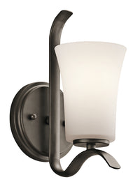 Kichler One Light Wall Sconce 45374OZ-Sconces-HomePlumbing