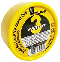 Mill-Rose 70820 3-Wrap Yellow Gas Tape