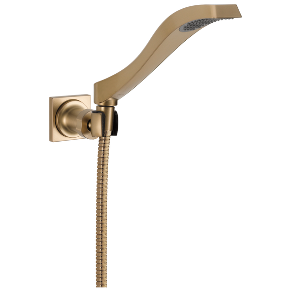 Delta Dryden 55051-CZ Premium Single-Setting Adjustable Wall Mount Hand Shower Champagne Bronze-Showering Component-HomePlumbing