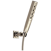Delta Universal Showering Components 55140-PN H2Okinetic 4-Setting Wall Mount Hand Shower Polished Nickel-Showering Component-HomePlumbing