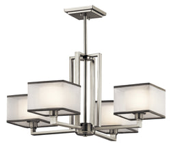 Kichler Four Light Chandelier 43438NI