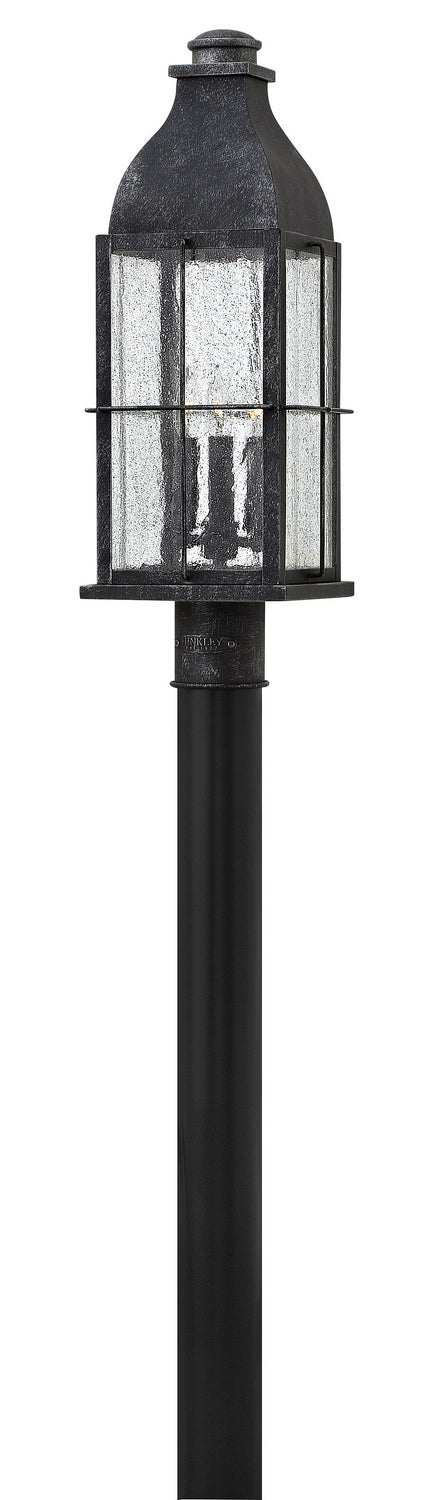 Hinkley 2041GS Three Light Post Top/ Pier Mount-Exterior-HomePlumbing