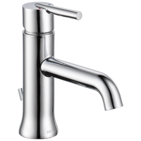Delta Trinsic 559LF-GPM-MPU Single Handle Bathroom Faucet Chrome-Lavatory-HomePlumbing
