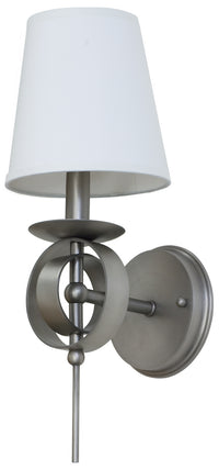 House of Troy LS202-SP One Light Wall Sconce-Sconces-HomePlumbing