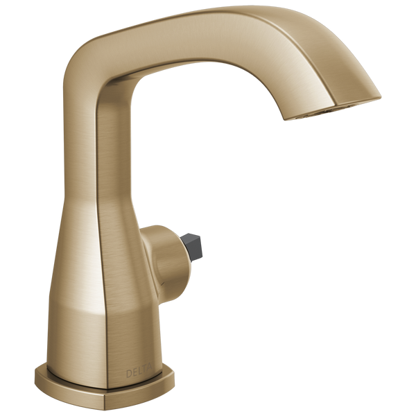 Delta Stryke 576-CZLPU-LHP-DST Single Handle Faucet Less Pop-Up, Less Handle Champagne Bronze-Lavatory-HomePlumbing