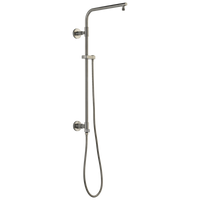 Delta Universal Showering Components 58820-SS Shower Column 26 Inch Round Stainless-Showering Component-HomePlumbing