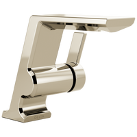 Delta Pivotal 599-PNLPU-DST Single Handle Bathroom Faucet Polished Nickel-Lavatory-HomePlumbing