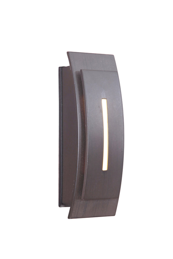 Craftmade TB1020-AI Contemporary Curved Lighted Touch Button-Specialty Items-HomePlumbing
