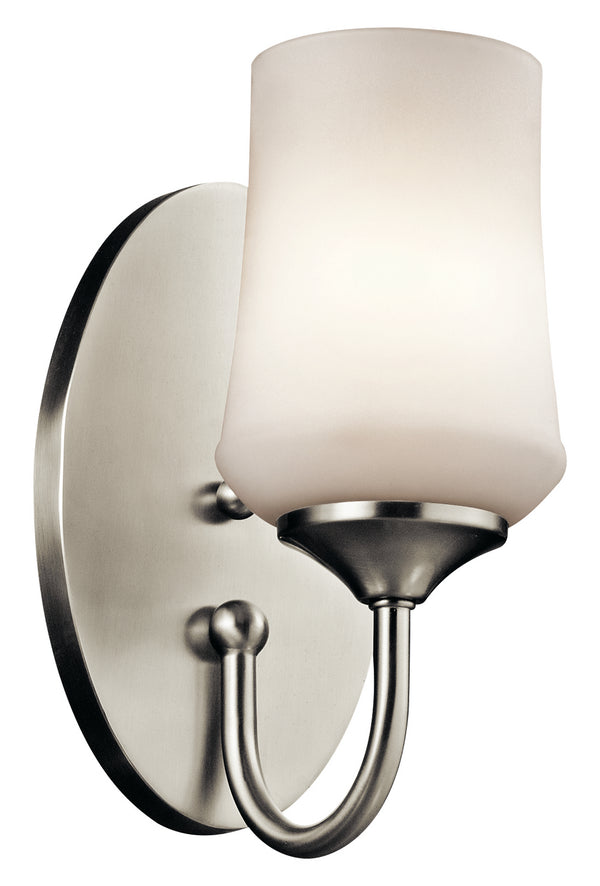 Kichler One Light Wall Sconce 45568NI-Sconces-HomePlumbing