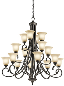 Kichler 16 Light Chandelier 43192OZ