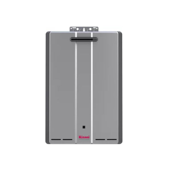 Rinnai Sensei 11 GPM 199000 BTU 120 Volt Residential Liquid Propane Tankless Water Heater for Outdoor Installation with Recirculation Pump RUR199eP-tankless water heater-HomePlumbing