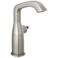 Delta Stryke 676-SSLHP-DST Mid-Height Faucet Less Handle Stainless-Lavatory-HomePlumbing