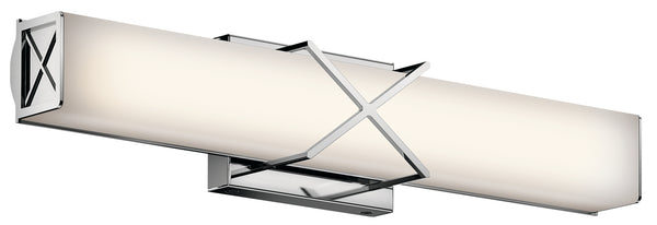 Kichler LED Linear Bath 45657CHLED-Bathroom Fixtures-HomePlumbing