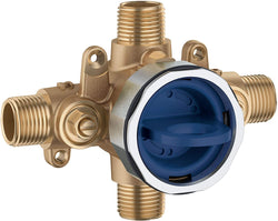 Grohe 35110000 GrohSafe 3.0 Pressure Balance Rough-In Valve, Unfinished
