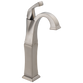 Delta Dryden 751-SS-DST Single Handle Vessel Bathroom Faucet Stainless