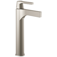 Delta Zura 774-SS-DST Single Handle Vessel Bathroom Faucet Stainless-Lavatory-HomePlumbing
