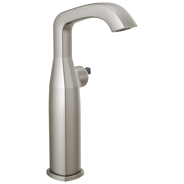 Delta Stryke 776-SSLHP-DST Vessel Faucet Less Handle Stainless-Lavatory-HomePlumbing