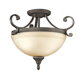Kichler LED Semi Flush Mount 43169OZL18
