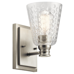 Kichler One Light Wall Sconce 45095NI