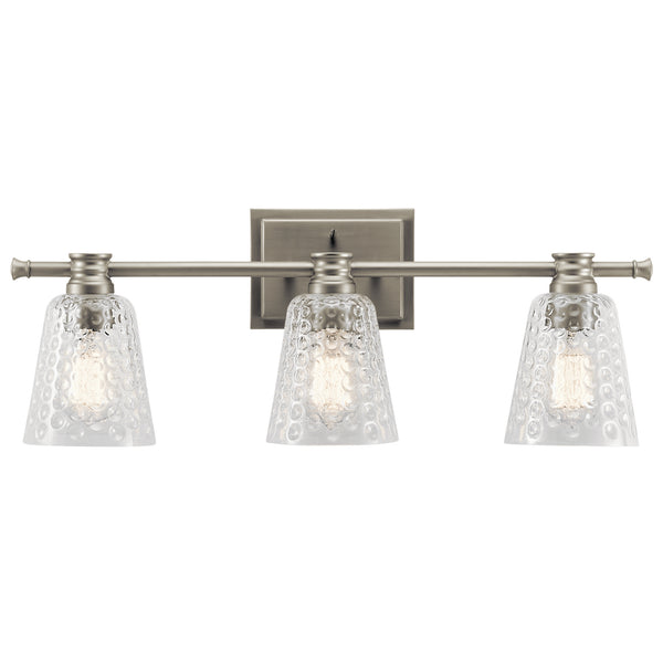 Kichler Three Light Bath 45097NI-Bathroom Fixtures-HomePlumbing