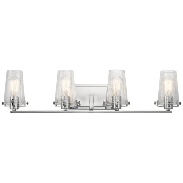 Kichler Four Light Bath 45298CH-Bathroom Fixtures-HomePlumbing