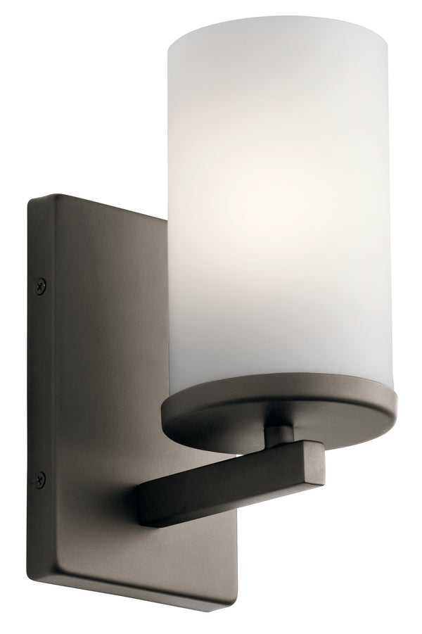 Kichler One Light Wall Sconce 45495OZ-Sconces-HomePlumbing