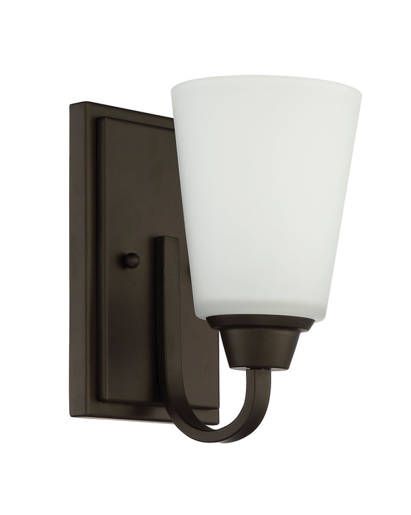 Craftmade 41901-ESP One Light Vanity Light-Sconces-HomePlumbing