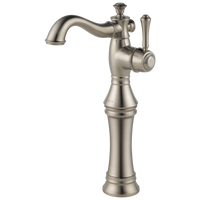 Delta Cassidy 797LF-SS Single Handle Vessel Bathroom Faucet Stainless-Lavatory-HomePlumbing