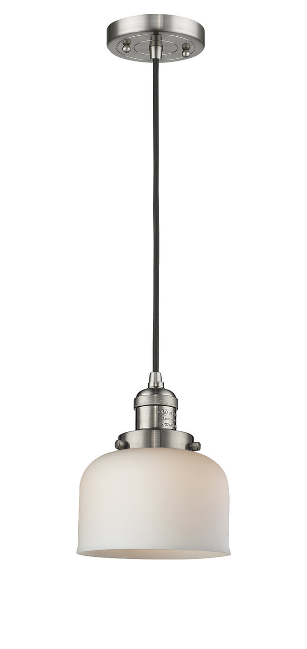 Innovations 201C-SN-G71 One Light Mini Pendant-Mini Pendants-HomePlumbing