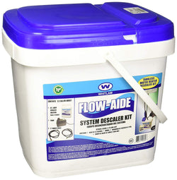 Whitlam KITC FLOW-KIT, 15 x 10 x 15 Bucket, Circulator, Hoses and Descaler Solution