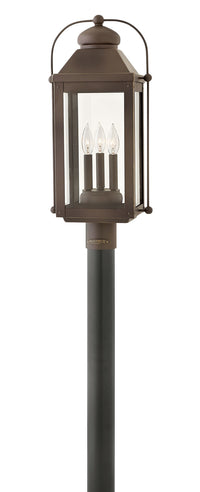 Hinkley 1851LZ-LL Three Light Post Top/ Pier Mount-Exterior-HomePlumbing