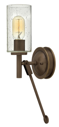 Hinkley 3380LZ One Light Wall Sconce-Sconces-HomePlumbing