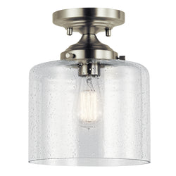 Kichler One Light Semi Flush Mount 44033NI