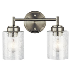 Kichler Two Light Bath 45885NI