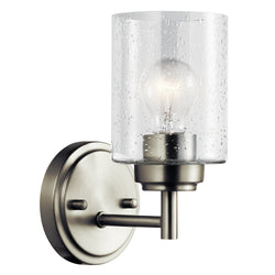 Kichler One Light Wall Sconce 45910NI