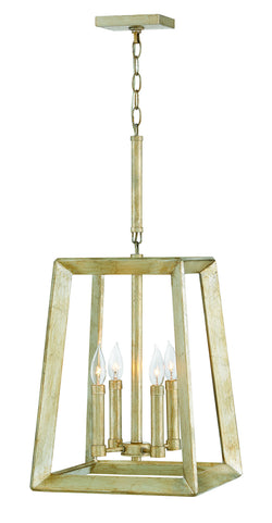 Hinkley 3104SL Four Light Chandelier