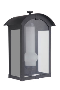 Craftmade ZA1712-MN-LED One Light Pocket Lantern-Exterior-HomePlumbing