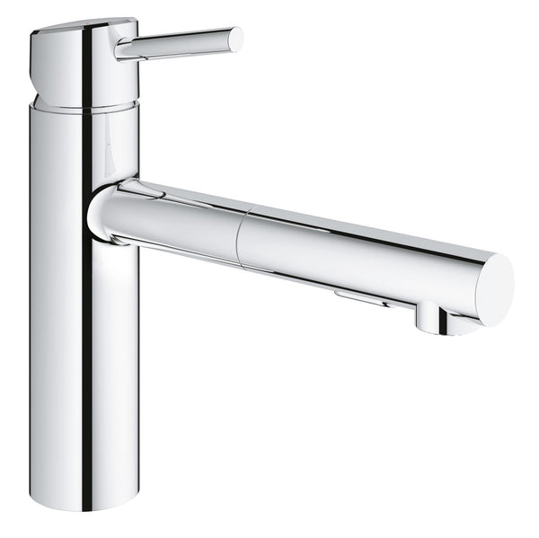 Concetto Single-Handle Pull-Out Kitchen Faucet with Dual Spray