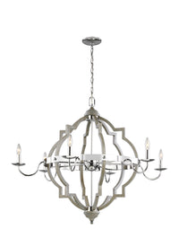 Generation Lighting 3224906-872 Six Light Chandelier-Large Chandeliers-HomePlumbing