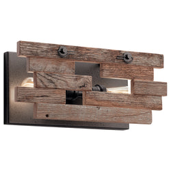 Kichler Two Light Wall Sconce 44230AVI
