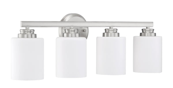 Craftmade 50504-BNK-WG Four Light Vanity-Bathroom Fixtures-HomePlumbing
