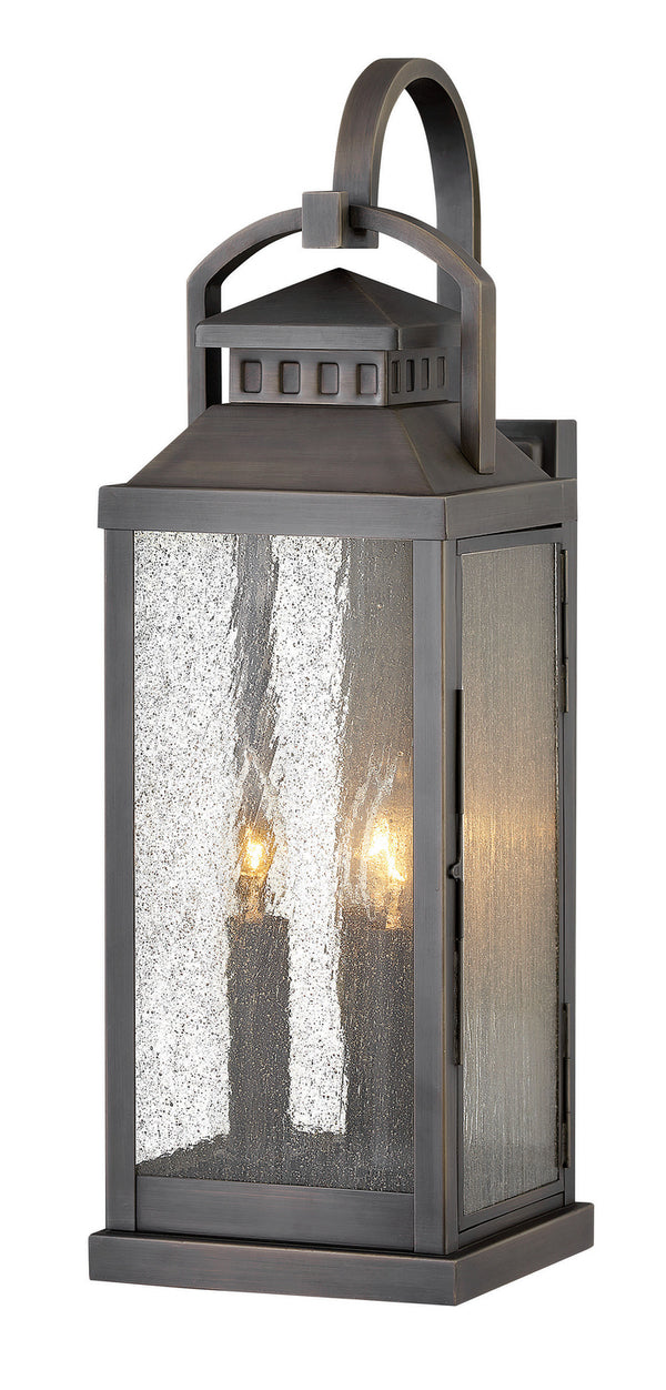 Hinkley 1185BLB Three Light Outdoor Lantern-Exterior-HomePlumbing