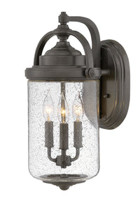 Hinkley 2755OZ Three Light Outdoor Lantern-Exterior-HomePlumbing