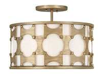Hinkley 4733BNG Three Light Foyer Pendant-Mini Chandeliers-HomePlumbing